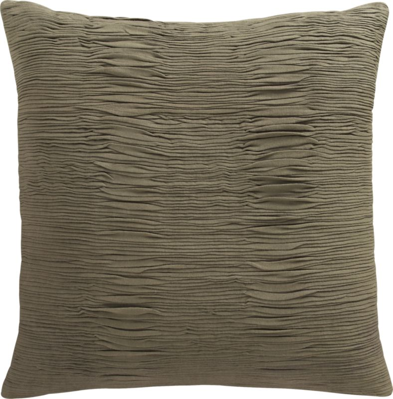 "fine lines brown 20"" pillow"