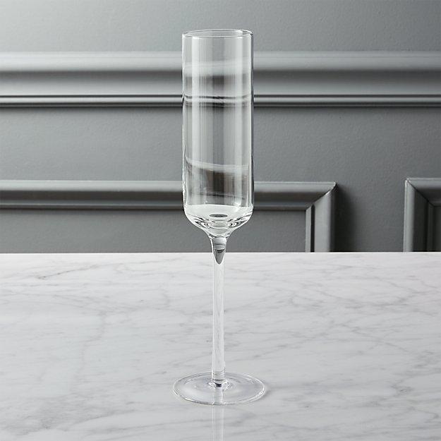 fizz champagne flute CB2