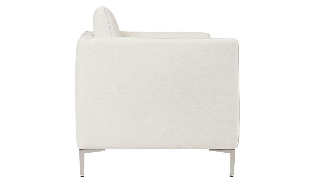 flatiron linen apartment sofa