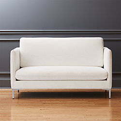 flatiron linen apartment sofa