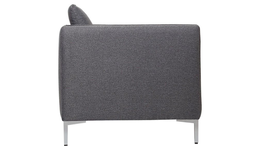 flatiron grey apartment sofa