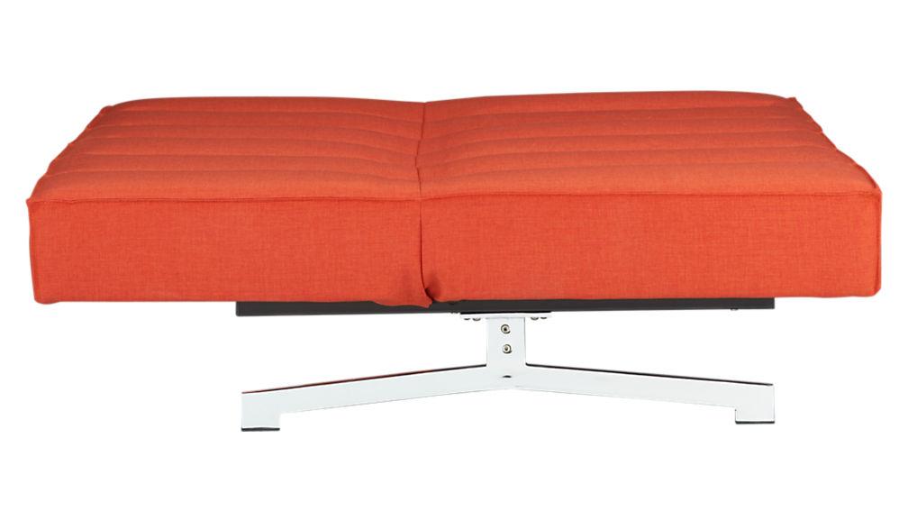 flex orange sleeper sofa