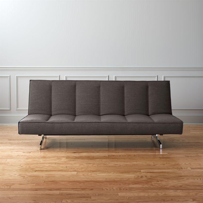 Flex Gravel Sleeper Sofa Basic Gravel Cb2