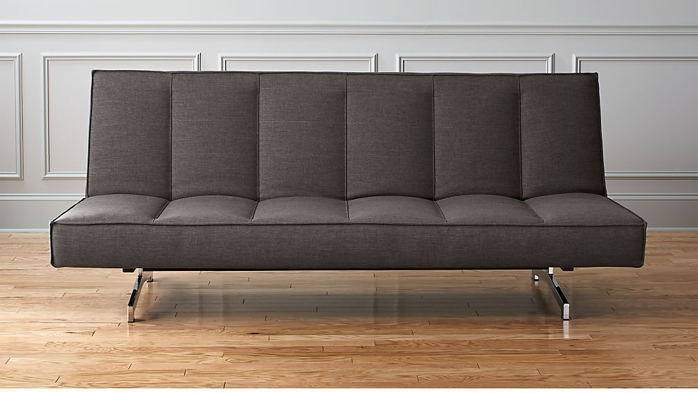 Flex Grey Queen Sleeper Sofa Cb2