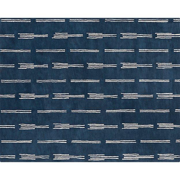 flight blue rug 8'x10'