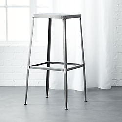 "flint steel 30"" bar stool"