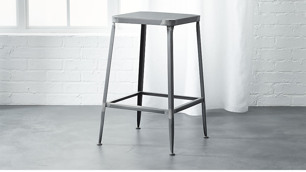 Flint Steel 24 Quot Counter Stool In Bar Stools Counter