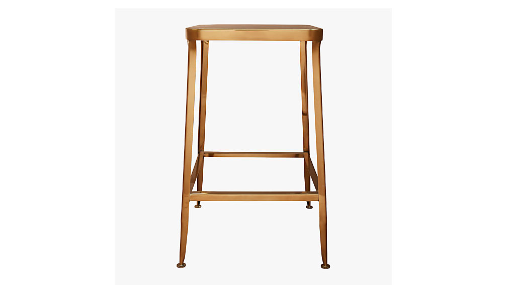 "flint gold 30"" bar stool"