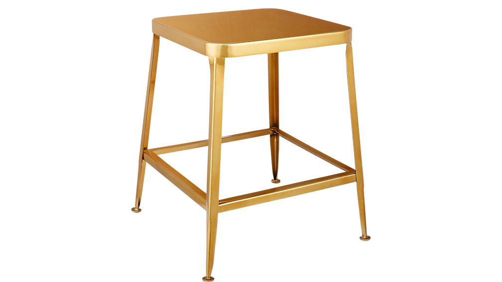 "flint gold 24"" counter stool"