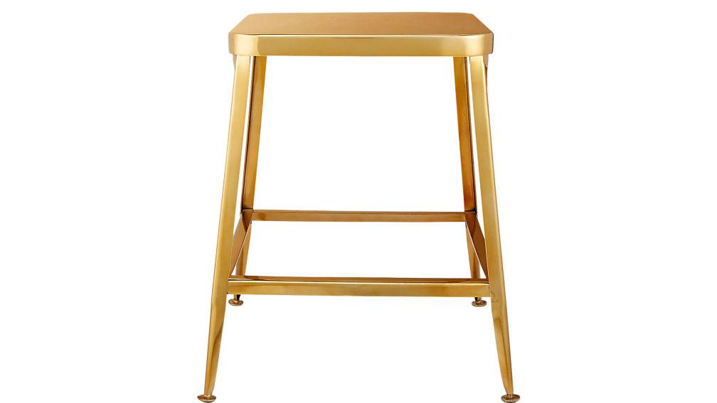 """flint gold 24"""" counter stool"""