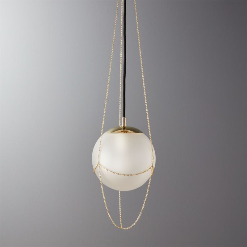 - Flo Adjustable Pendant Light CB2