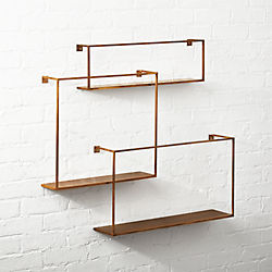 Floting Shelves floating shelves | cb2