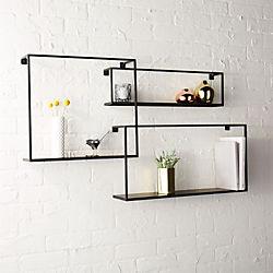floating shelves set of three