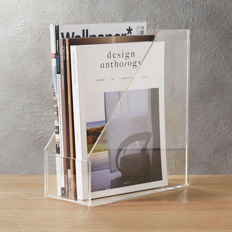 format magazine holder