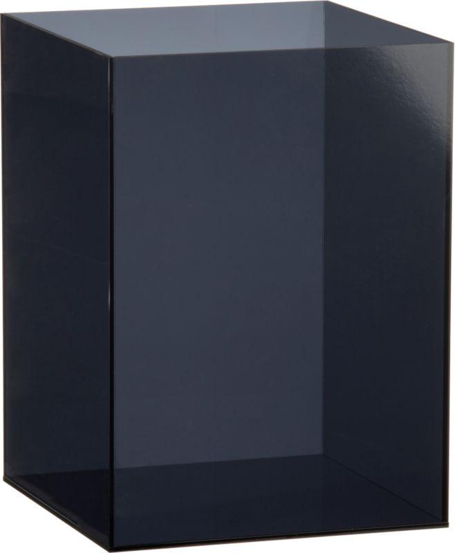 smoke format acrylic wastecan