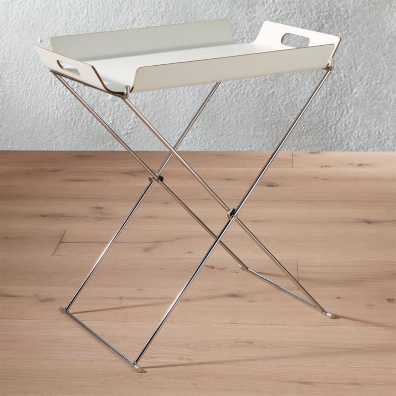Formosa White Tray Table Add To Favorites