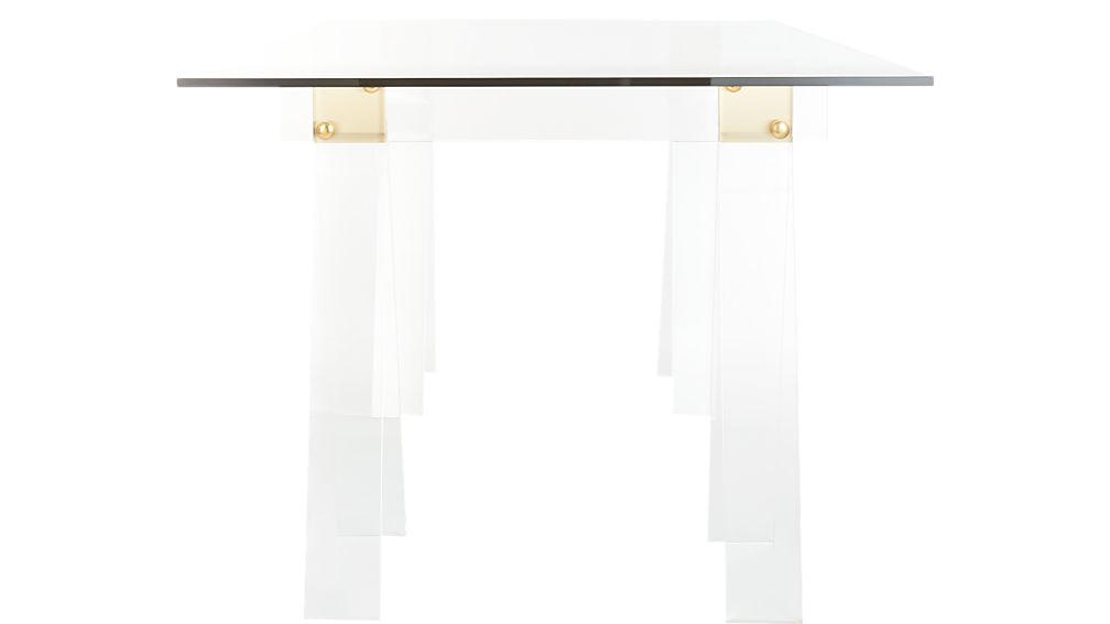 "Foundry 72"" Acrylic Desk"