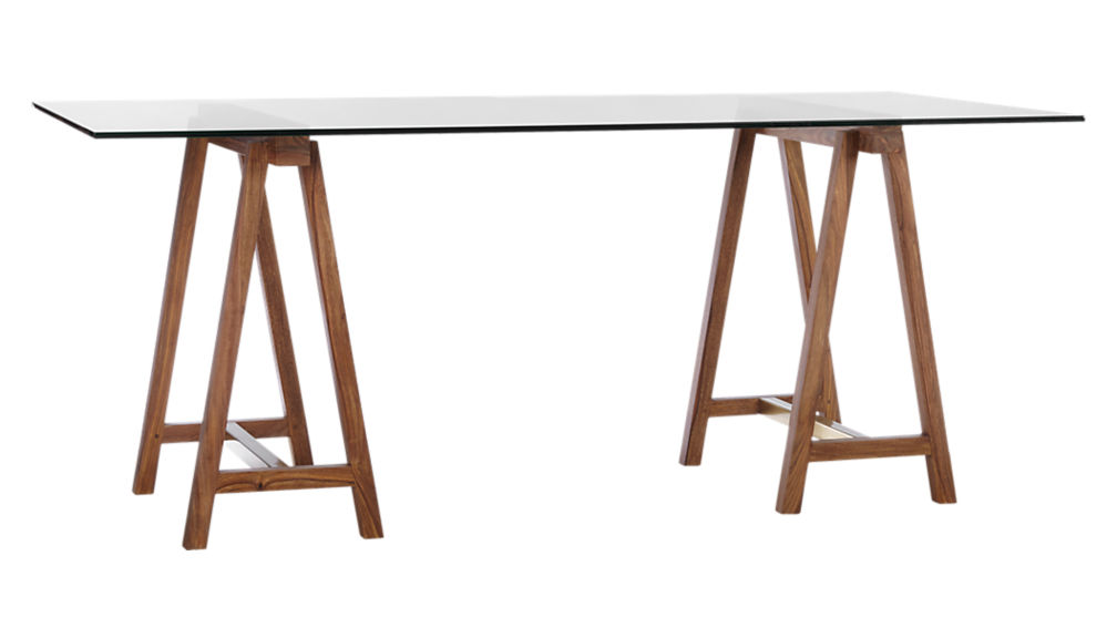 "foundry 72"" trestle table"