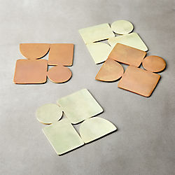 Four Square Coasters Set of 4