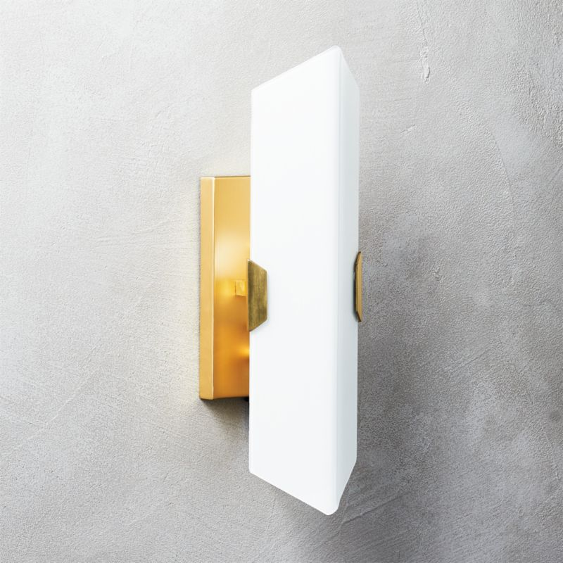 Cb2 Repeat Wall Sconces : Fragment Glass Wall Sconce CB2
