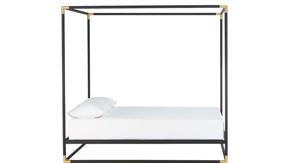 frame canopy king bed