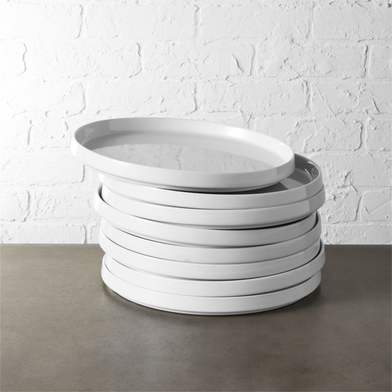set of 8 frank dinner plates & Modern Dinnerware and Unique Dinnerware Sets | CB2