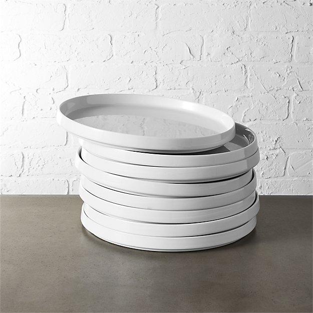 set of 8 frank dinner plates