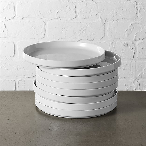set of 8 frank salad plates