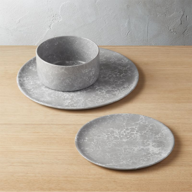 Froth Grey Dinnerware & Modern Dinnerware and Unique Dinnerware Sets | CB2