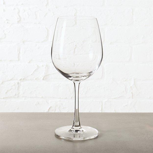fulton red wine glass