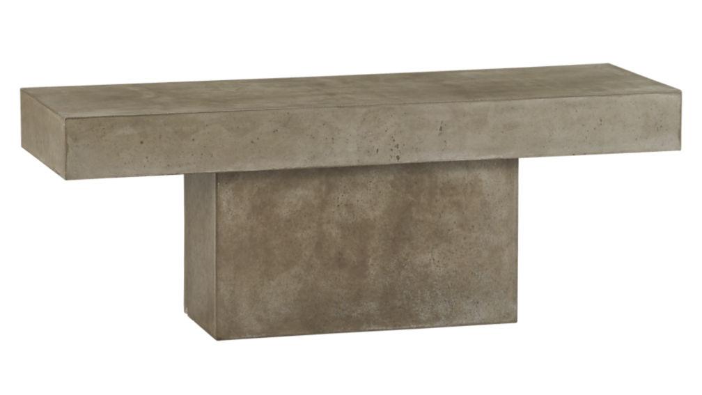Fuze Cement Granite Bench