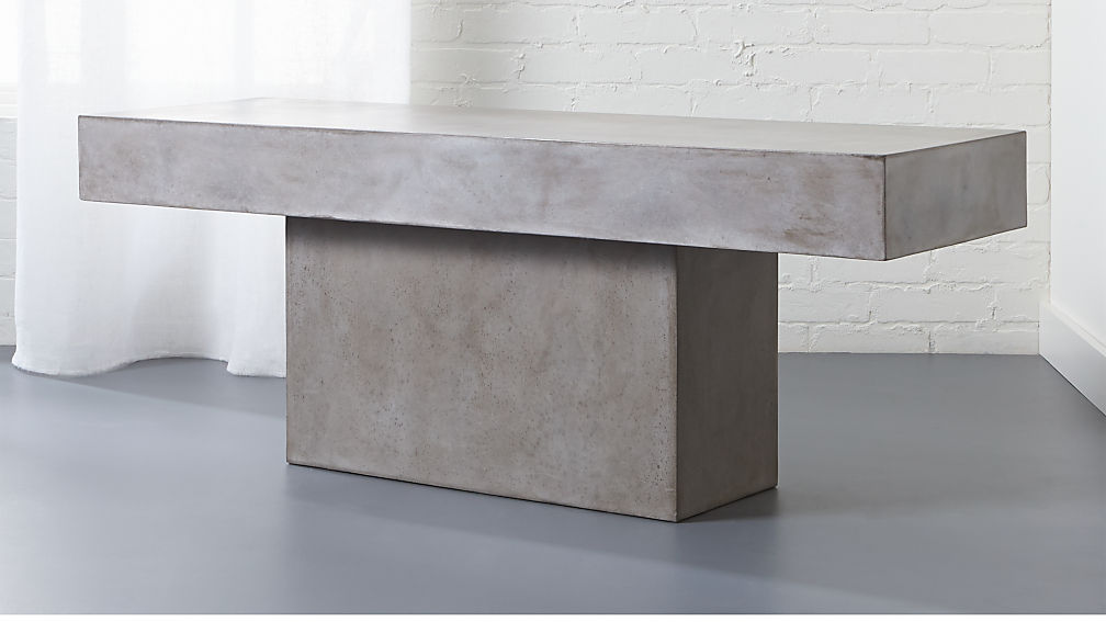 Fuze Cement Granite Bench Reviews Cb2