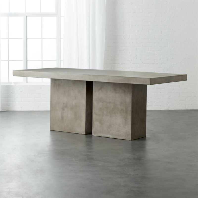 Ordinaire Fuze Large Grey Table
