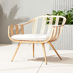 gala gold lounge chair