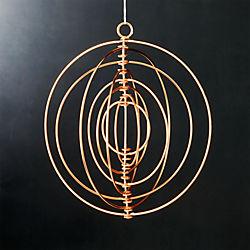 galactic copper ornament