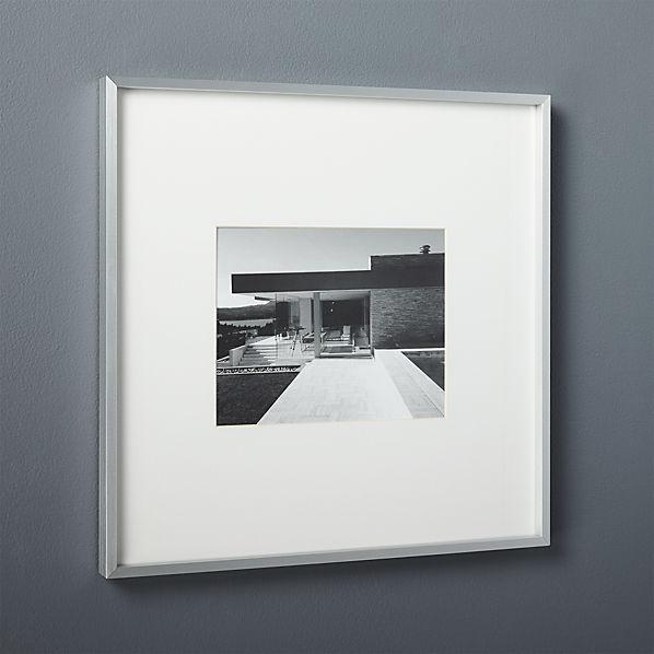 Gallery8x10FrmeSlvrWhtMatSHS17