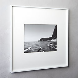 gallery white 11x14 picture frame