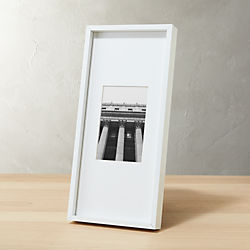 gallery white 4x6 picture frame