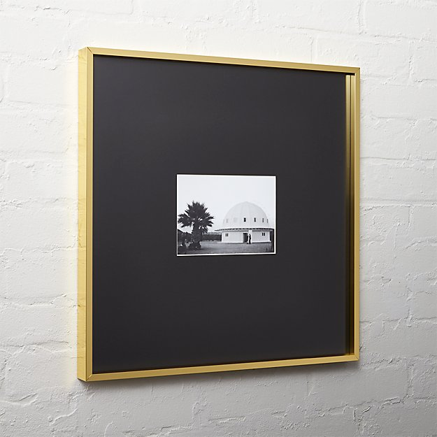 Shoptagr Gallery Brass Picture Frames With Black Mats By
