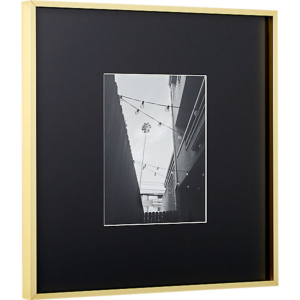 GalleryFrame8x10BrssBlkMatS17