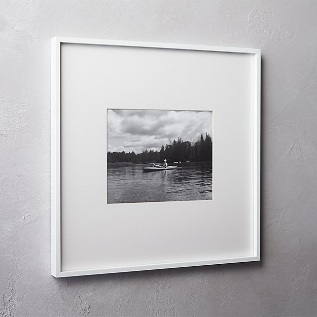 gallery white 8x10 picture frame