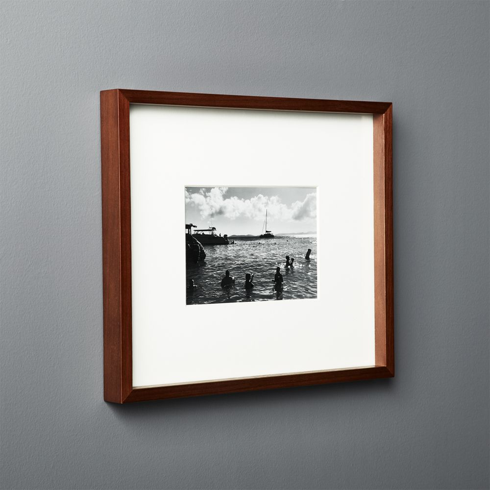 Online Designer Bedroom Gallery Walnut Frame with White Mat 5x7