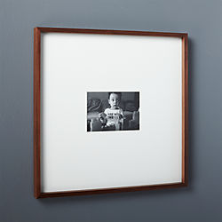 gallery walnut 5x7 picture frame