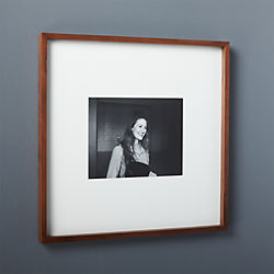 gallery walnut 8x10 picture frame