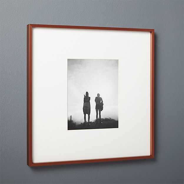 Gallery Copper 8x10 Picture Frame With White Mat Reviews