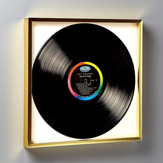 Gallery Brass Record Frame