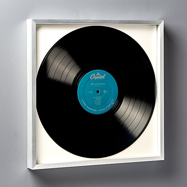 Gallery Silver Record Frame