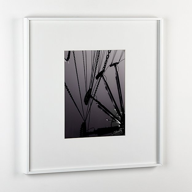 Gallery White Picture Frames Cb2