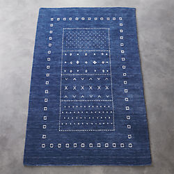 game time hand-loomed rug