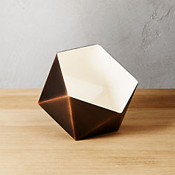 geodesic tea light candle holder